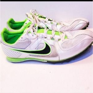 Nike Cleats Gray and Green size 12